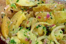 salade de pomme de terre excellente