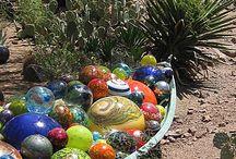 glass ball art