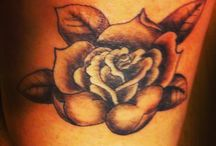 Rose Tattoo / Rose tattoo done on my leg