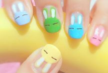 easter nails / by Abbe Kelley