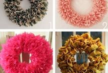Wreaths. DIY