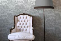 Toile de Jour / Classic elegance with an eclectic, sophisticated look. Historic toile edited for a new generation :)