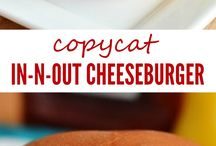 In-N-Out copycat burger