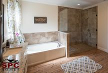 Bathroom Santuaries / A bathroom should be a sanctuary, providing a soothing and peaceful environment. Check out our board full of inspiration as you build or remodel your home.