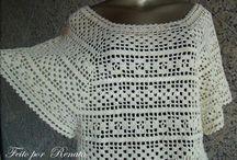 bluzeczka szydełkoo