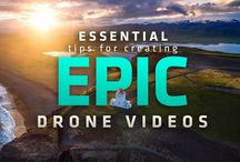 Drone Filming Tips / Filming tips for operating a drone and aerial footage