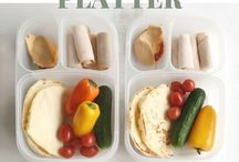 School Lunch Ideas / I like to prepare an entire week's worth of school lunches for my kids in one day.  These are a collection of the simple lunches I've made and my inspiration for future lunch boxes.