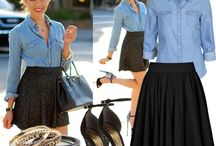 outfit ideas / by Kristen Stephenson