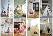 teepee's and play tents