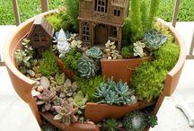 Gartenkunst Töpfe