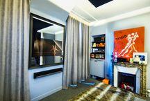 Miroir TV Chambre / Miroir TV install dans des chambres.