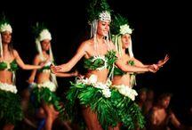 Tahitian Dances - Ori Tahiti / Aparima and Otea / by Katrin Lenz