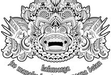 Balinese Art / Balinese Art, Decorative, Traditional