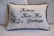 USA Cottage Industry Embroidered Table Linens, Bed Linens, Tea Towels and Tea Cozies / If you love embroidered linens and like to shop USA made products, you'll love our collections from Nannette Stewart Originals!