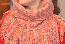 Handwoven collars/scarfs