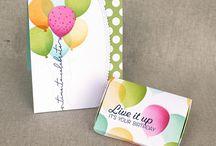Balloon Celebration Stamp Set