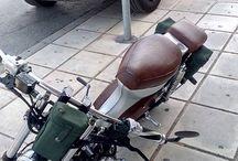 Sakis Theodoroy Honda C50 / #Honda #C50 #MRCG #Customising
