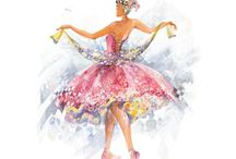 Sleeping Beauty Ballet Art