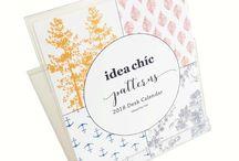 Desk Calendars by Idea Chíc
