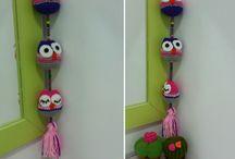 Colgantes de crochet
