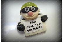 IMÃS DE GELADEIRA BISCUIT