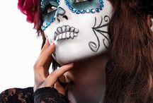 Maquillaje de día de los muertos (México)