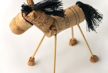DIY horse craft / Ideas for a riding camp for kids.