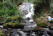 Cachoeiras / Nada mais relaxante que o banho de cachoeira. Nesta pasta ideias incríveis de cachoeiras maravilhosas pelo Brasil.