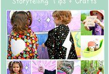 storytelling / by Echa @Homelearningme