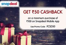 Snapdeal Promotion - Get Rs.50 Cashback On Minimum Purchase Above Rs.100 Or More