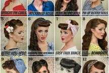 (HAIRSTYLES & MAKE-UP) 50's / by Amber Bradley-carter