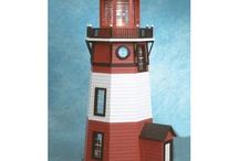 Lighthouse Dollhouse / Lightdollhouse 1:12