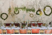 Flowers and Table Decorations
