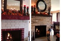 Home -- Fireplace Makeover