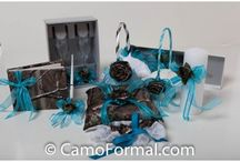 Camo Wedding Floral/Reception / All items can be found at camoformal.com