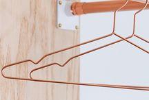 C o p p e r / Un elemento della tavola periodica, un materiale, un colore, uno stile: esempi di rame nell'interior design.