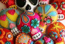 メキシコ ガイコツ  Calaveras Mexicanas