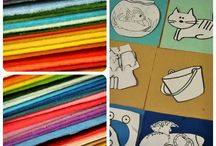 Развивающие  книжки и игрушки из ткани / Выкройки, идеи, сами книжки и кубики из ткани для деток