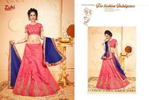2611 Zuhi 4 Zuhi Silk banglori with Embroidery Lehenga choli