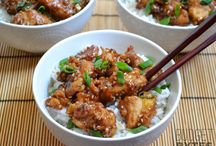 Sesame chicken / Chicken