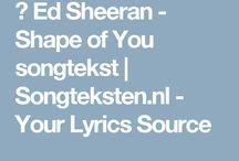 song teksten