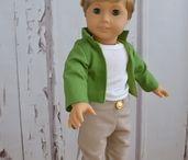 Boy Doll Clothing PDF Sewing Patterns