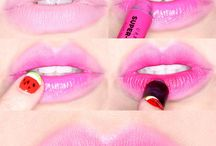 Fashion  ::  Make-up ideas