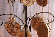 Du bois pour Noël / Des idées pleine de bois pour Noël