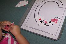 Preschool-Letter activities / by Alise Erdlen