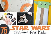 The Force is Strong with Kids: Star Wars Fun for Kids! / Star Wars crafts, activities, and fun for kids to enjoy all the galaxy has to offer!