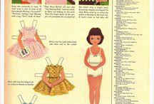 Paper Dolls 1/Påklædningsdukker 1 / Alle slags påklædnings dukker