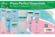 Press Perfect / Press Perfect is a collection of pressing essentials. The new basics for any pressing station  / by Clover USA