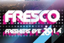 Fresco- Freshers' eve for the class of 2017-  Organised by Class of 2016