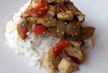 Asian inspired dishes Recetas con toque asiatico. Recetas de Anansies